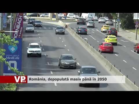 România, depopulată masiv până în 2050
