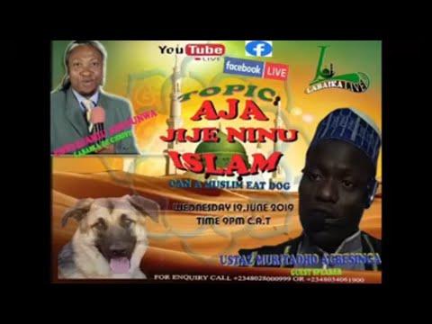 USTAZJAMIU PRESENTS USTADH MURTADHO AGBESINGA/AJA JIJE NINU ISLAM(CAN A MUSLIM EAT DOG)