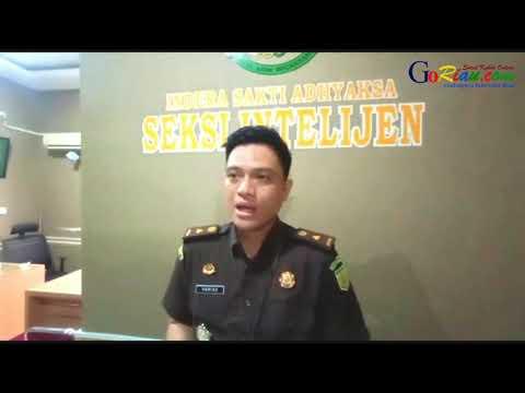 VIDEO: Mantan Kades Mekong Ditahan Kejari Kepulauan Meranti, Kerugian Capai Rp347 Juta