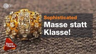 Wundersamer Design-Ring! Susi verliebt sich sofort bei Bares für Rares vom 17.07.2019 | ZDF