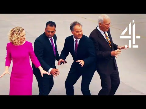Anchorman Fight Scene Spoof With Channel 4, ITV, Sky News & Ed Miliband | The Last Leg