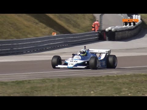 Ligier JS11 Cosworth Formula One pure Sound at Spa & Dijon