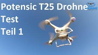 | Teil 1 | Potensic Drohne (T25) Test: Foto, Funktionen, Windanfälligkeit