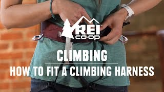 How to Put on a Climbing Harness || REI