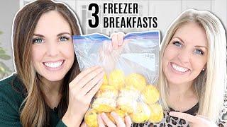 3 Quick And Easy Breakfast Freezer Meals