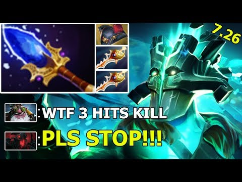 HOLY S*IT! CRAZY JUGGERNAUT Aghanim Scepter + 2 Divine Rapiers + Pirate Hat WTF Gameplay 7.26 Dota 2