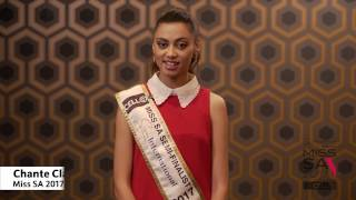 Introduction Video of Chante Holloway Miss South Africa 2017 Contestant from Atlantis, Western Cape