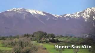 preview picture of video 'Gran Sasso Orientale dal Lago di Penne'