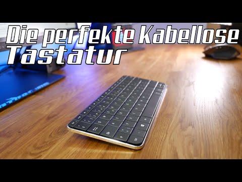 Kompakte Tastatur ohne Kabel? Nicht leicht zu finden!? ⌨ Die Microsoft Wedge Bluetooth-Tastatur