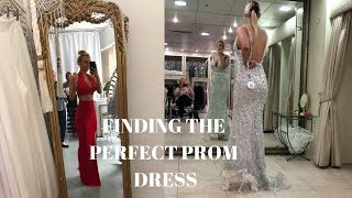 PROM/FORMAL DRESS SHOP WITH ME! 2018