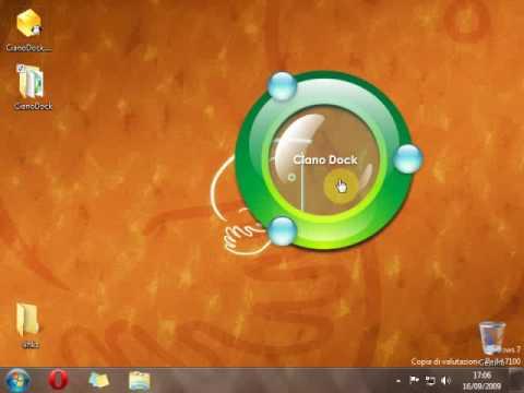 CianoDock, bellissimo software per lanciare le applicazioni