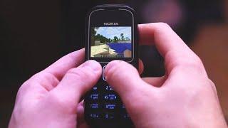 Майнкрафт Ява игра на кнопочном телефоне