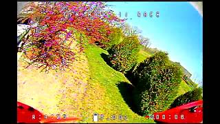 Tinyhawk II Race flight test