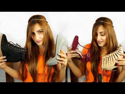 Shoe Haul (Heels)   Aishwarya Kaushal