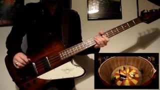 ''The Roller'' - Beady Eye - Bass Cover