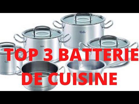 TOP 3 MEILLEURES BATTERIES DE CUISINE 2020