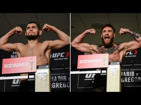UFC 229 Ceremonial Weigh-ins Ahead Of Khabib Vs. McGregor Title Fight