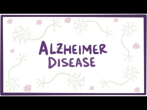 Video Alzheimer's disease - plaques, tangles, causes, symptoms & pathology