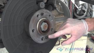 Brake Pad/Rotor Replacement Mercedes ML