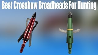 Top 5 Best Crossbow Broadheads For Hunting 2020