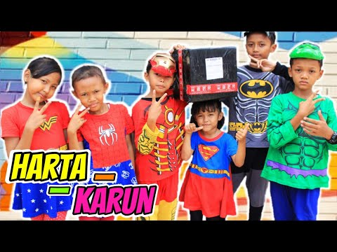 Superhero Rara beraksi Mencari Harta Karun!!!Drama Superhero dan Mainan Anak