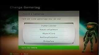 Xbox 360 Random Gamertag Generator!