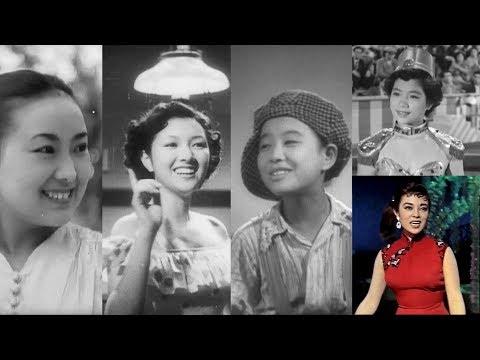 日本映画 昭和女優の軌跡 ♪女優は歌う♪ リンゴの唄・銀座カンカン娘・東京キッド・夜来香 他