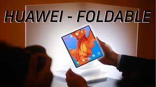 Huawei Mate X Quick look: A $2,600 5G Foldable Phone!