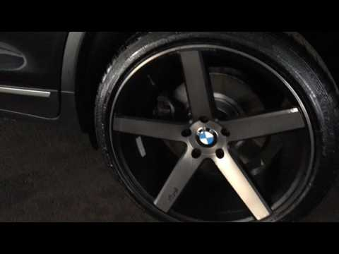 2013 BMW X3 on 20'' rims