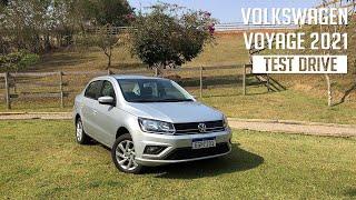 Volkswagen Voyage 2021 - Test Drive