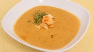Homemade Lobster Bisque Recipe – Laura Vitale – Laura in the Kitchen Episode 490