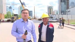 Астана-LRT компаниясы құрылысшыларының наразылығы