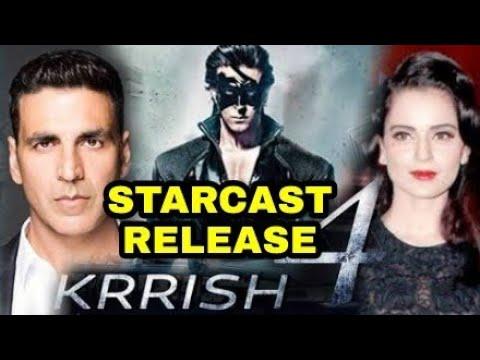 Krrish 4 starcast release date,Hrithik Roshan,Kangana Ranaut,Akshay kumar,Krrish 4 Release date