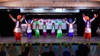 Dav college jalandhar Bhangra 2015