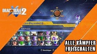Alle Charaktere Freischalten - Dragon Ball Xenoverse 2