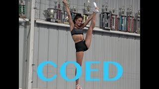 Cheer Extreme Coed Elite 2017 2018 early July Practice