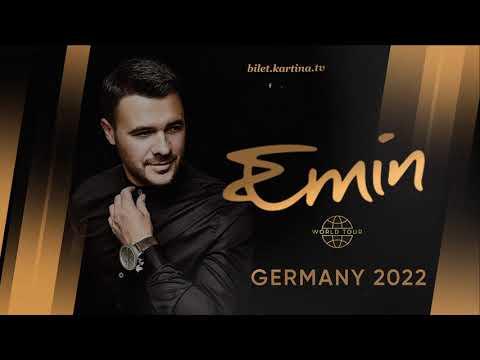 EMIN. Сольный тур в Германии 2022