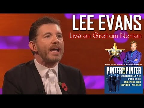 Lee Evans - Very funny interview on Graham Norton for Pinter (Live at the West End) [HD]