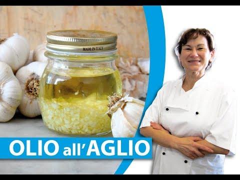 come fare l'olio all'aglio - La Cucina della Laura