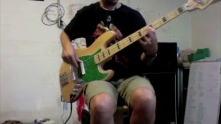 The Weight - Aretha Franklin (Jerry Jemmott) bass cover