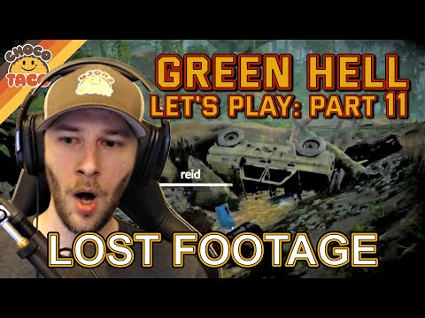 LET'S PLAY: Green Hell Part 11 LOST FOOTAGE - chocoTaco and Reid Green Hell Survival Gameplay