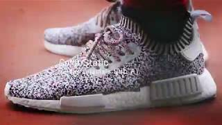 NMD R1 「Color Static」搭配