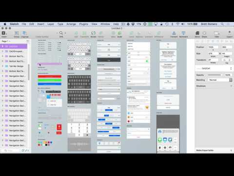Learn To Build Your First Professional iOS App - Creating UI in Sketch