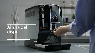 Кофемашина DELONGHI ECAM 350.15.B, 1450 Вт, объем 1,8 л, емкость для зерен 300 г, ручной капучинатор, черная
