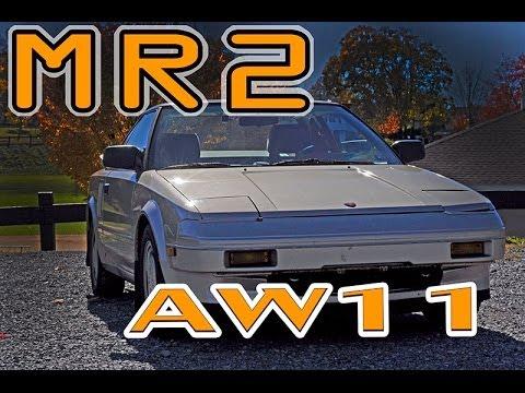 Regular Car Reviews: 1986 Toyota MR2 AW11