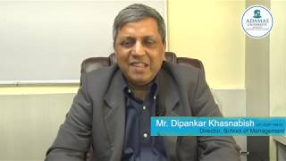 Adamas University | Director's Corner | Dipankar Khasnabish | School of Management