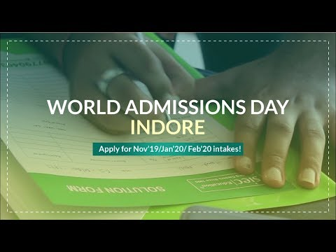 Study Abroad | Attend SIEC's World Admissions Day in Indore on 28th Aug 2019