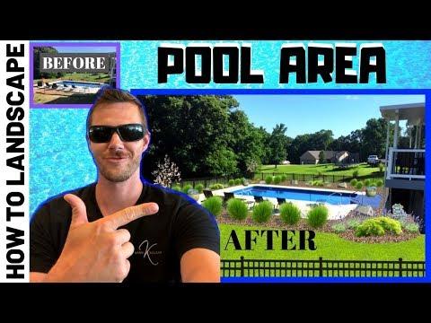 How to Landscape Design Pool Area