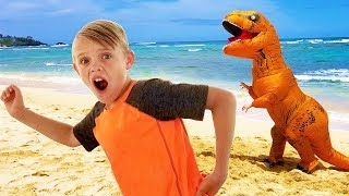 Kids Fun TV Compilation Video: Dinosaur, Pirate, Incredibles and Jumanji Together!