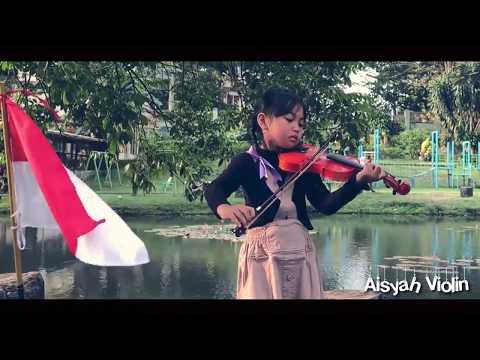 Biola indonesia Aisyah Cover Ibu pertiwi